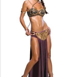 Princess Leia Slave Cosplay Costume